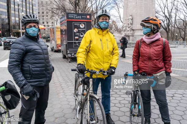 Members of Streets Pac organization help NYC mayoral candidate Andrew Yang collecting signatures to get on the ballot for Democratic party primary...