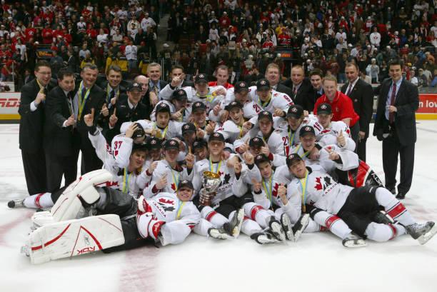 Fotos Und Bilder Von World Junior Hockey Championships Gold Medal