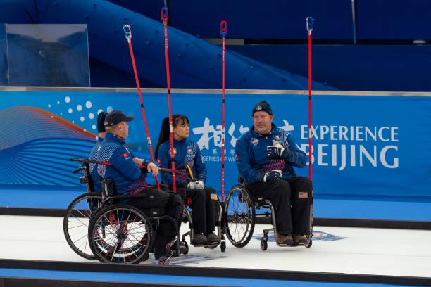 CHN: World Wheelchair Curling Championship 2021 -  USA v Switzerland