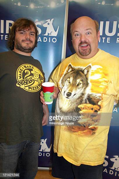 Members of Tenacious D Jack Black and Kyle Gass dropped by the Sirius Satellite Radio headquarters in NYC Wednesday morning Black and Gass were on...