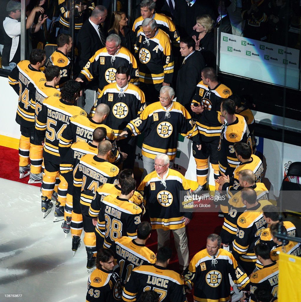 Members of the 1972 Bruins, the last team before this one ... Bruins Roster 1972