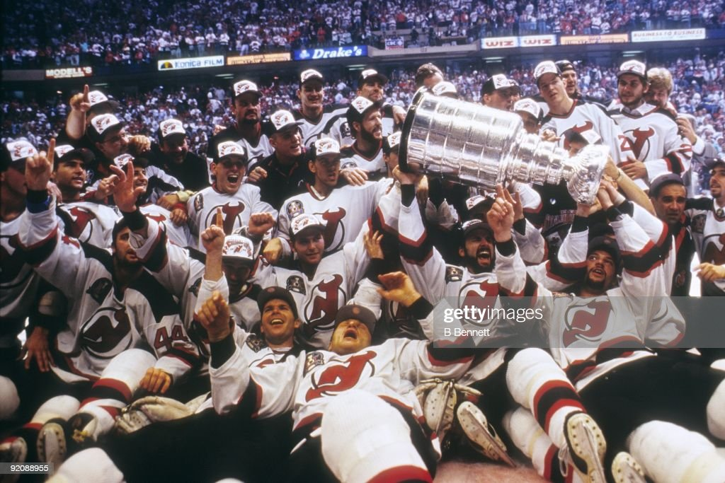 67eb7ad42 1995 Stanley Cup Finals  Detroit Red Wings v New Jersey Devils - Game 4