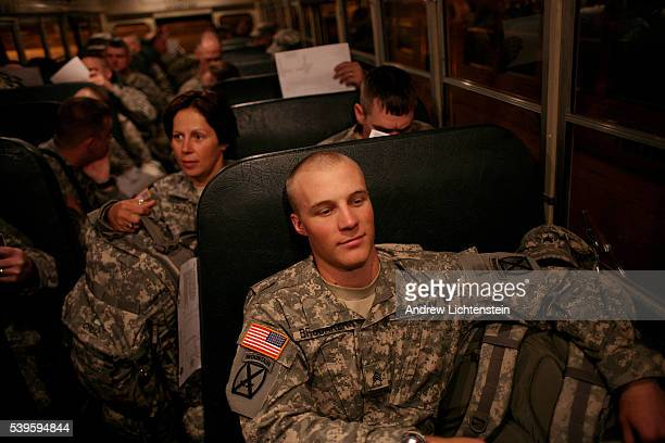 Members of the 2nd Brigade combat team of the 10th Mountain Division Light Infantry return home from a 15 month deployment in Iraq Fifty two members...