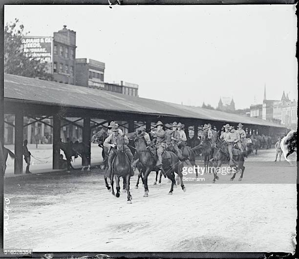 Members of the 3rd US Cavalry answering a riot call in Washington DC