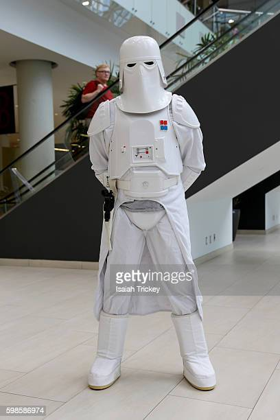Members of The 501st Legion attend the opening of Fan Expo Canada at Metro Toronto Convention Centre on September 1 2016 in Toronto Canada