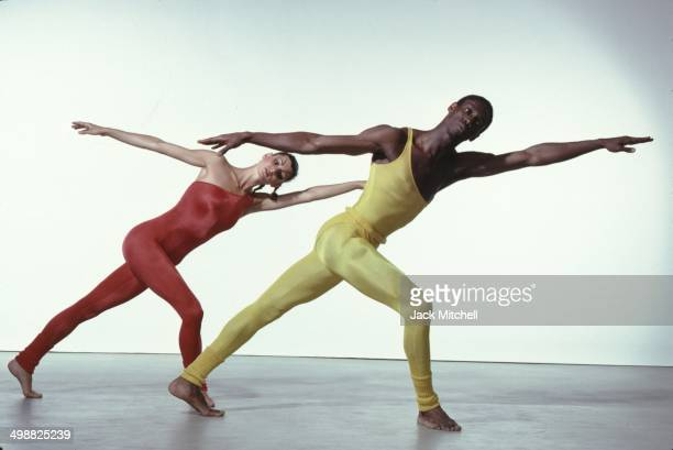 Members of the Alvin Ailey American Dance Theater perform New York New York 1979