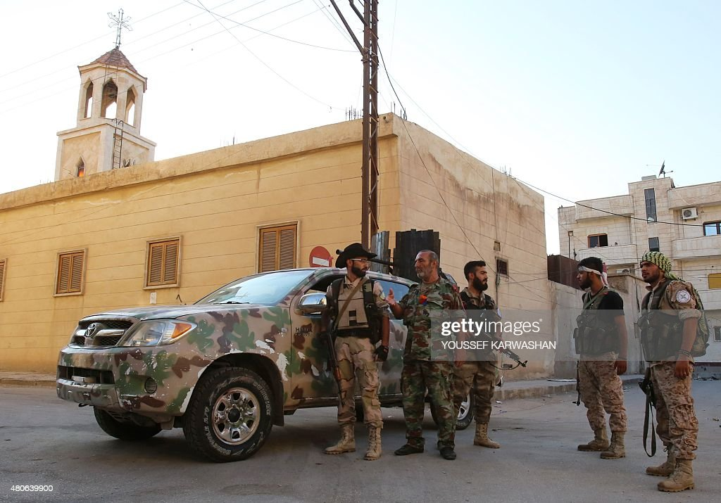 SYRIA-CONFLICT-CHRISTIAN : News Photo