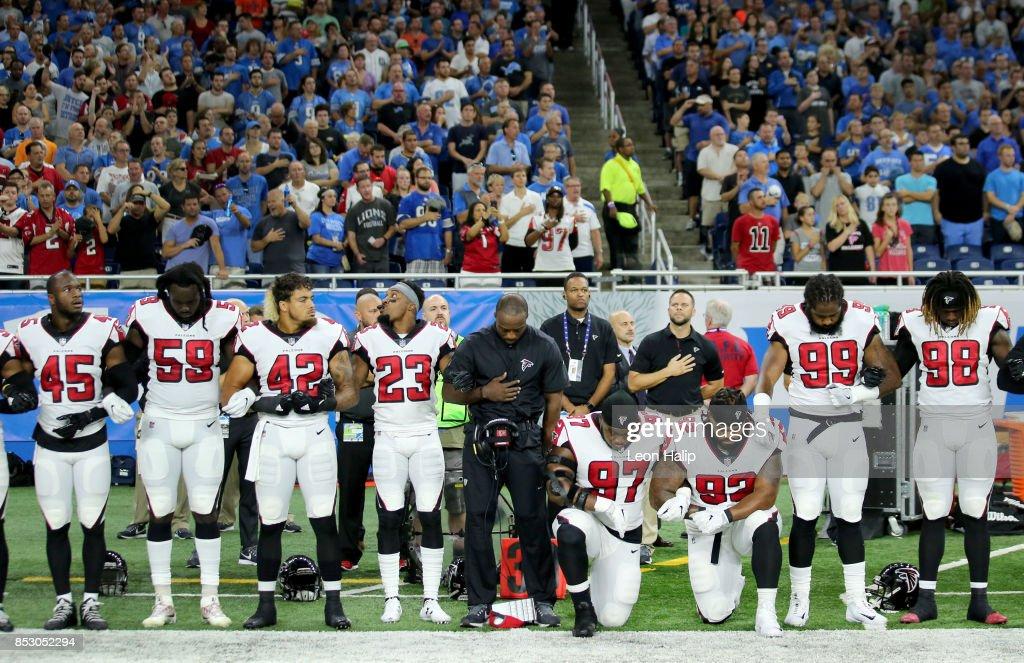Atlanta Falcons v Detroit Lions : News Photo