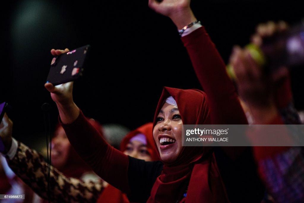 HONG KONG-INDONESIA-DIPLOMACY : News Photo