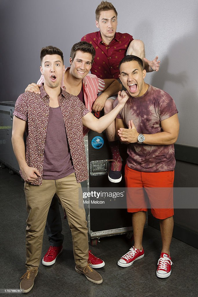 Big time rush los angeles times june 15 2013 photos and images members of the band big time rush logan henderson james maslow kendall schmidt voltagebd Image collections