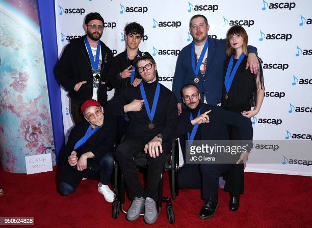 Members of the band 'Portugal The Man' attend the 2018 ASCAP Pop Music Awards on April 23 2018 in Beverly Hills California