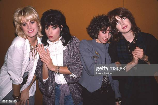 Debbi Peterson Vicki Peterson Michael Steele Susanna Hoffs