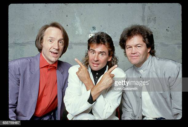 Members of the band The Monkees pose for a picture