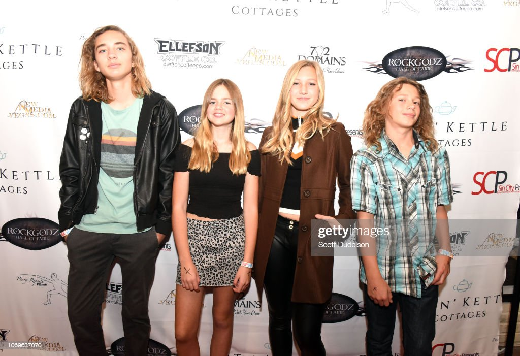 RockGodz Hall Of Fame Awards Show And Benefit Concert : News Photo