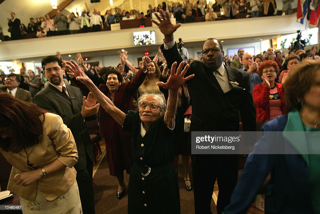 Pentecostal Church Services In Brooklyn : News Photo
