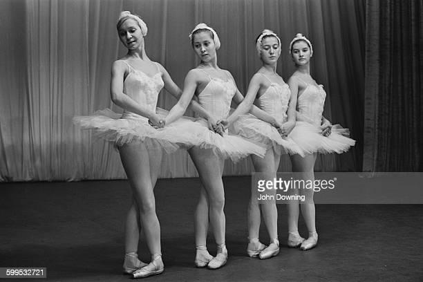 Members of the Bolshoi Ballet 3rd December 1967