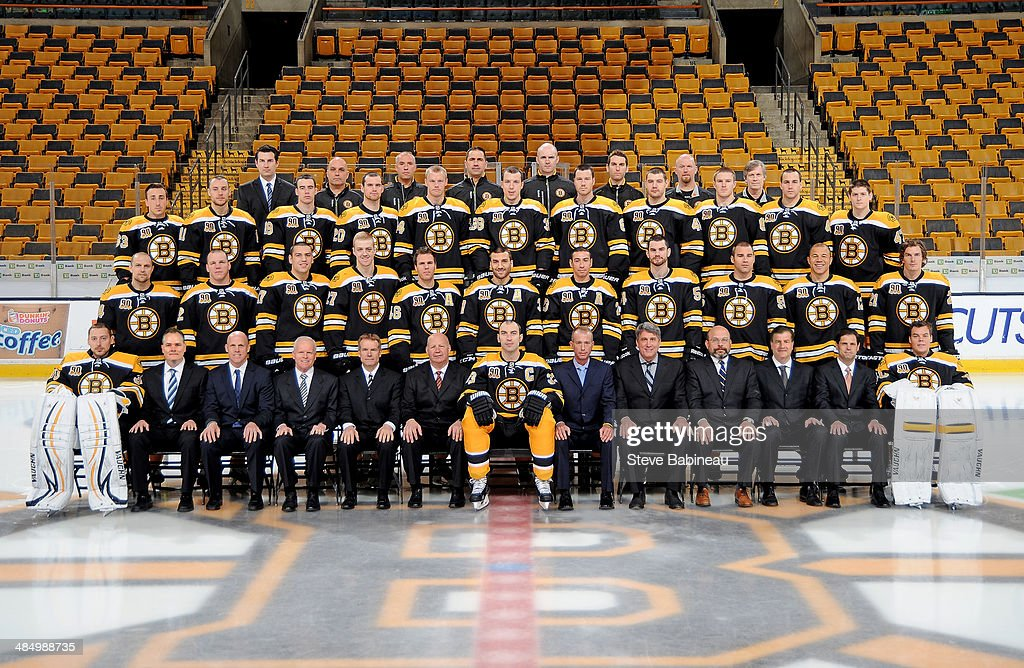 Members of the Boston Bruins pose for the offical 2013 ... Bruins Roster