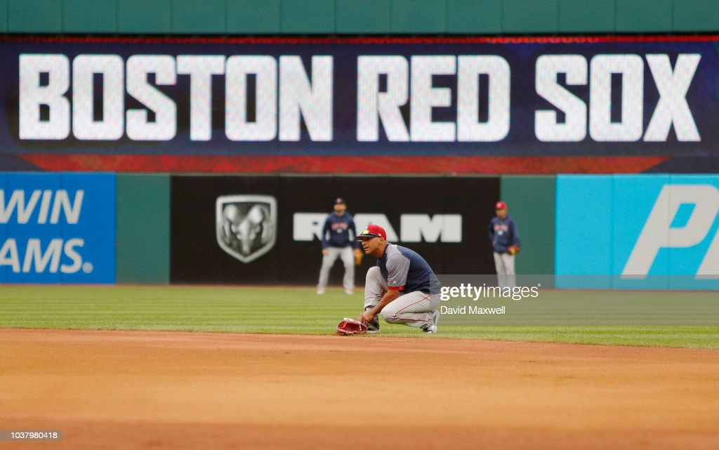 Boston Red Sox v Cleveland Indians