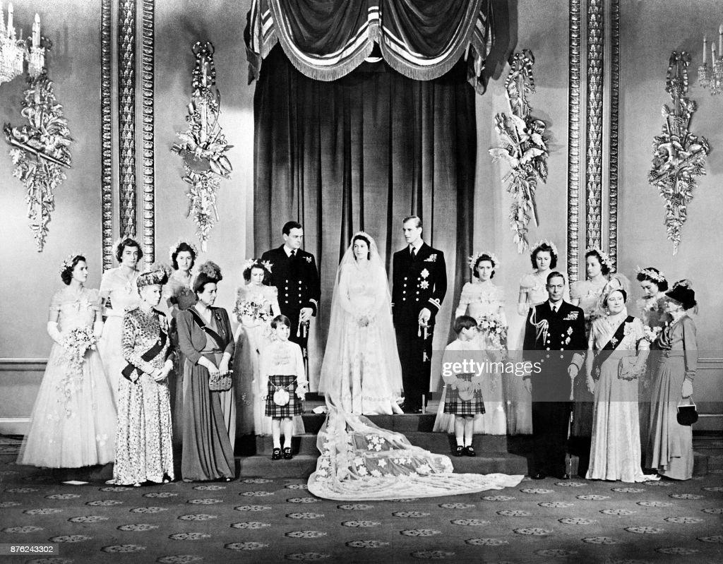 ELIZABETH II-WEDDING : News Photo