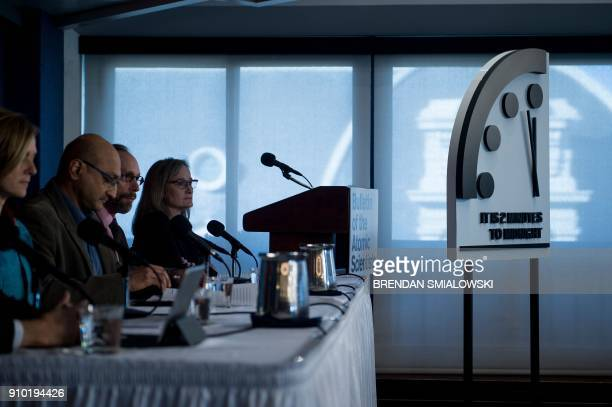 Members of the Bulletin of the Atomic Scientists talk about why they moved their Doomsday clock 30 seconds closer to the end of the world January 25...