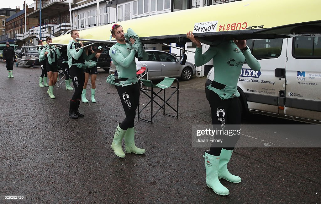BNY Mellon Boat Race - Cambridge Trial Eights : ニュース写真