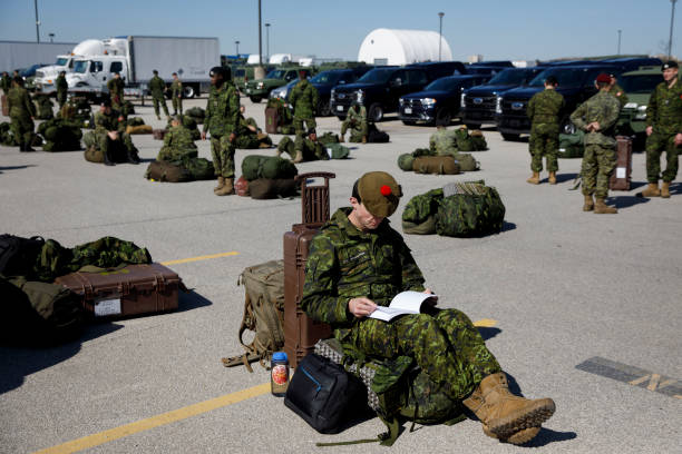 CAN: Canadian Military Personnel Begin To Mobilize In Effort Of Aiding Spread Of Coronavirus