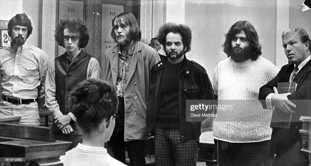 OCT 24 1967, OCT 25 1967; Members of the Canned Heat, A California Blues Band, As They Pleaded Innoc : News Photo
