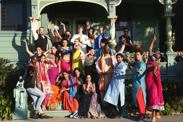 """CA: Media Dress Rehearsal For Blue13 Dance Company Presents """"Shaadi"""" An Audience-Immersive Bollywood Dance Event"""