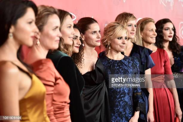 Members of the cast US actress Annet Mahendru Australian actress Radha Mitchell US actress Diane Lane French actress Ines Melab US actress Amanda...