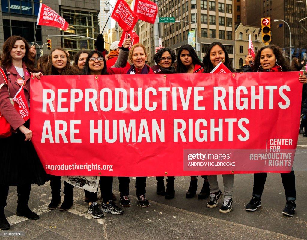 Women's March - New York City : News Photo