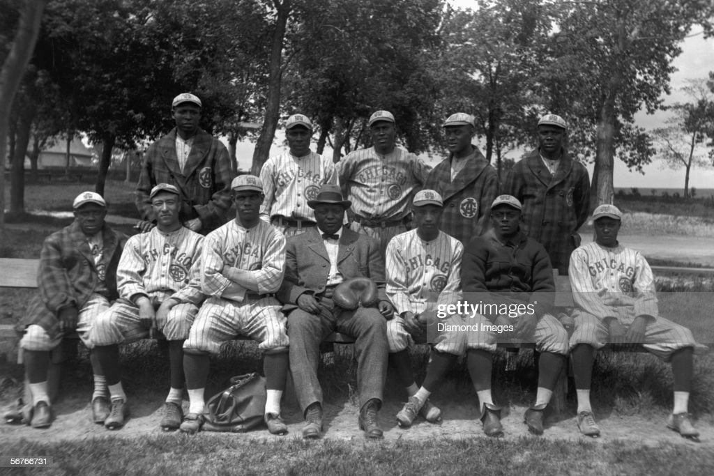 Negro Leagues - Chicago American Giants : News Photo