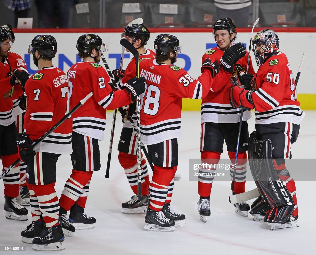 Minnesota Wild v Chicago Blackhawks : News Photo