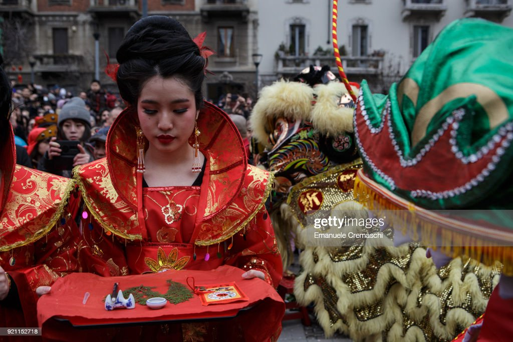 Chinese Lunar New Year Celebrations In Milan