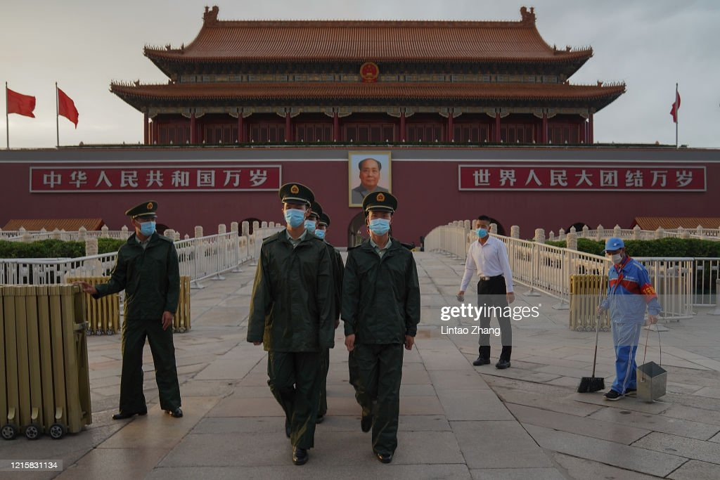 Daily Life In Beijing Amid China's Two Sessions : ニュース写真