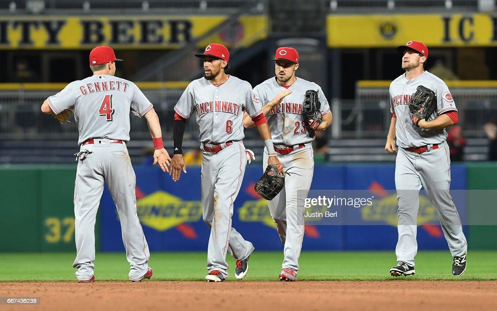 Cincinnati Reds v Pittsburgh Pirates : News Photo
