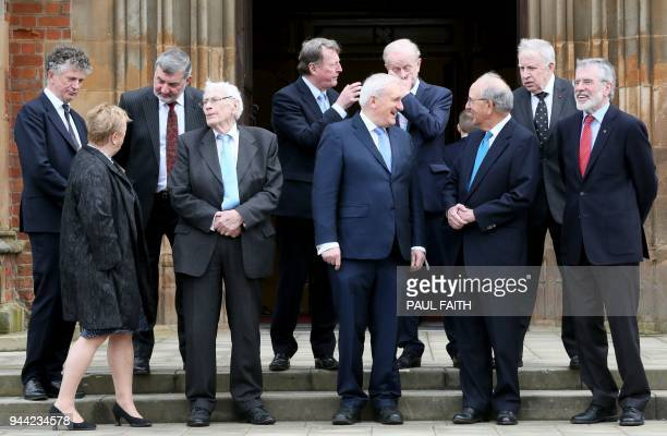 Members of The Class of 1998 Good Friday Agreement British diplomat Jonathan Powell former Alliance leader Lord Alderdice former First Minister of...