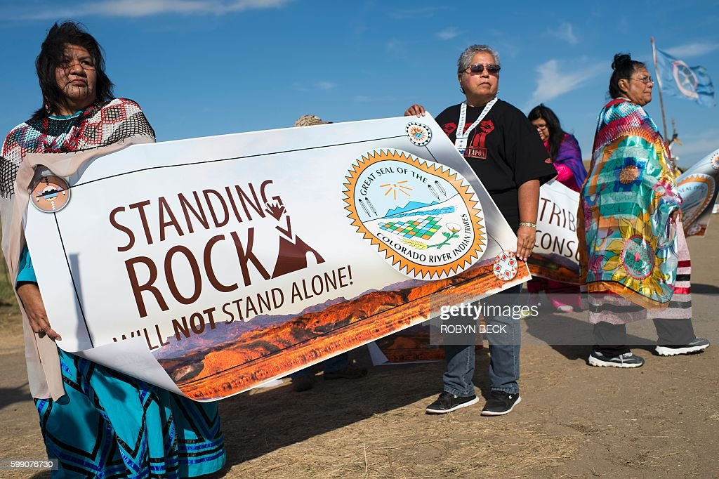 US-ENVIRONMENT-OIL-PROTEST-PIPELINE : News Photo
