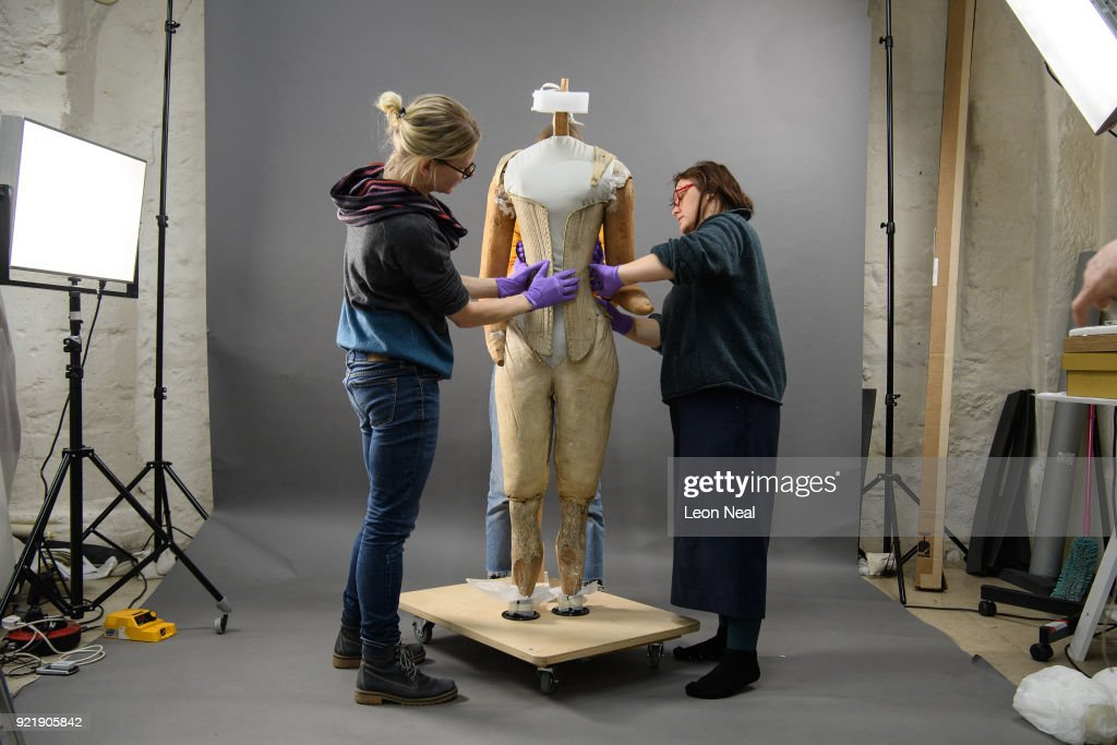 Queen Elizabeth I's Funeral Corset To Go On Show At New Abbey Museum : News Photo