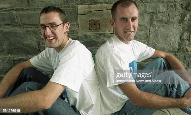 Neal Byrne and Tony O'Connor Picture Tony Gavin 14/7/00