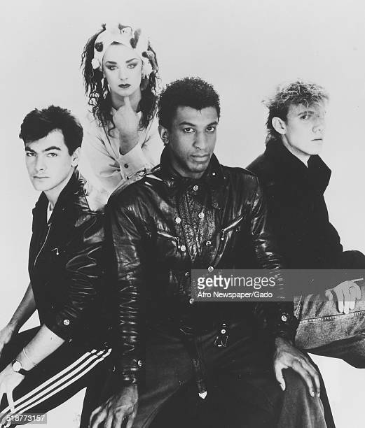 Members of the Culture Club singing group January 19 1985
