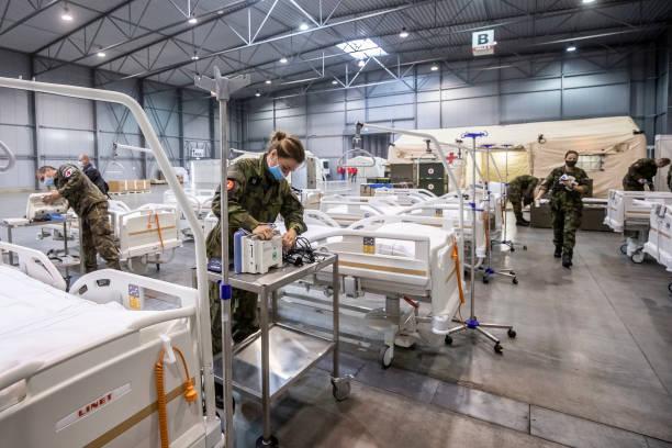 CZE: Prague Amid Coronavirus Uptick