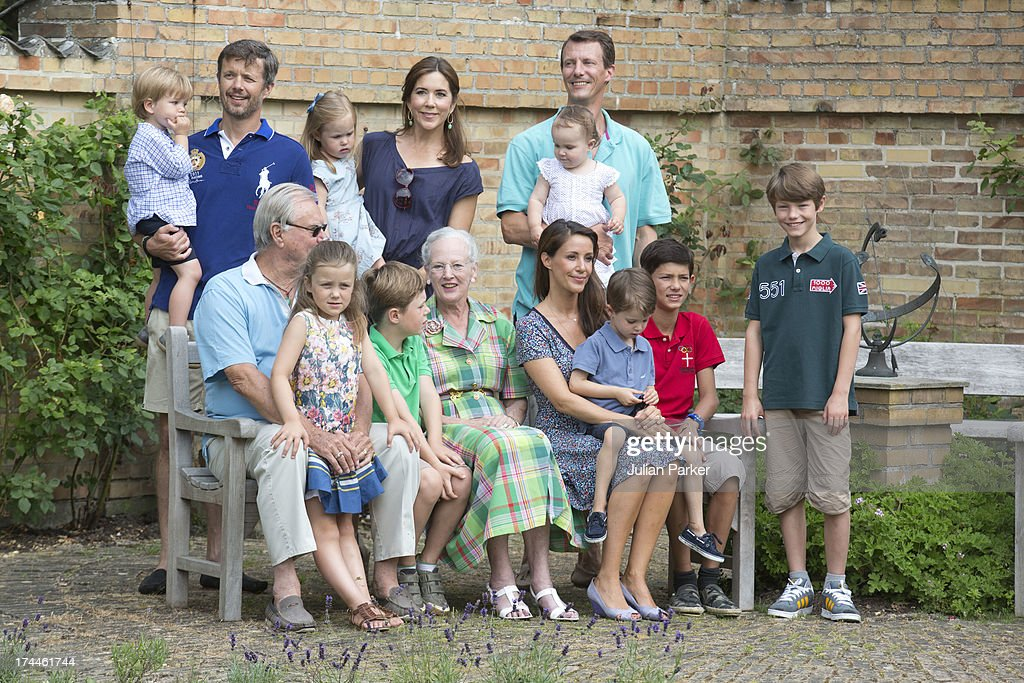 Danish royal family hold annual summer photocall photos and images members of the danish royal family attend the annual summer photocall for the royal danish family sciox Image collections
