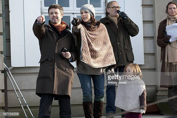 Members Of The Danish Royal Family Watch The Annual Hubertus Hunt Race At Dyrehaven Near CopenhagenCrown Prince Frederik And Crown Princess Mary Of...