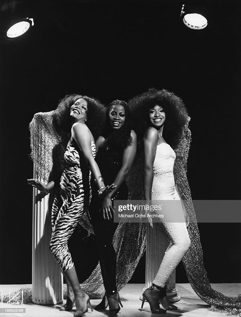 Members of the disco group 'Musique' which had 2 different lineups and was the brain child of producer Patrick Adams pose for a portrait in circa1978 in New York, New York.