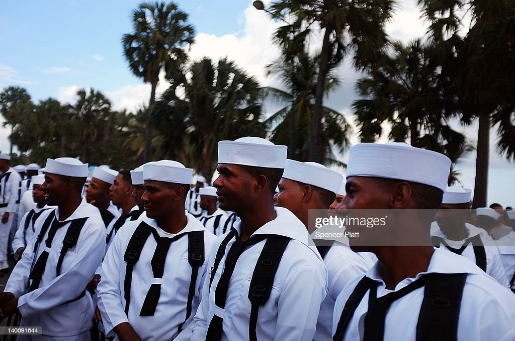Dominicans Celebrate Countrys Independence Day Photos And Images - Dominican republic independence day