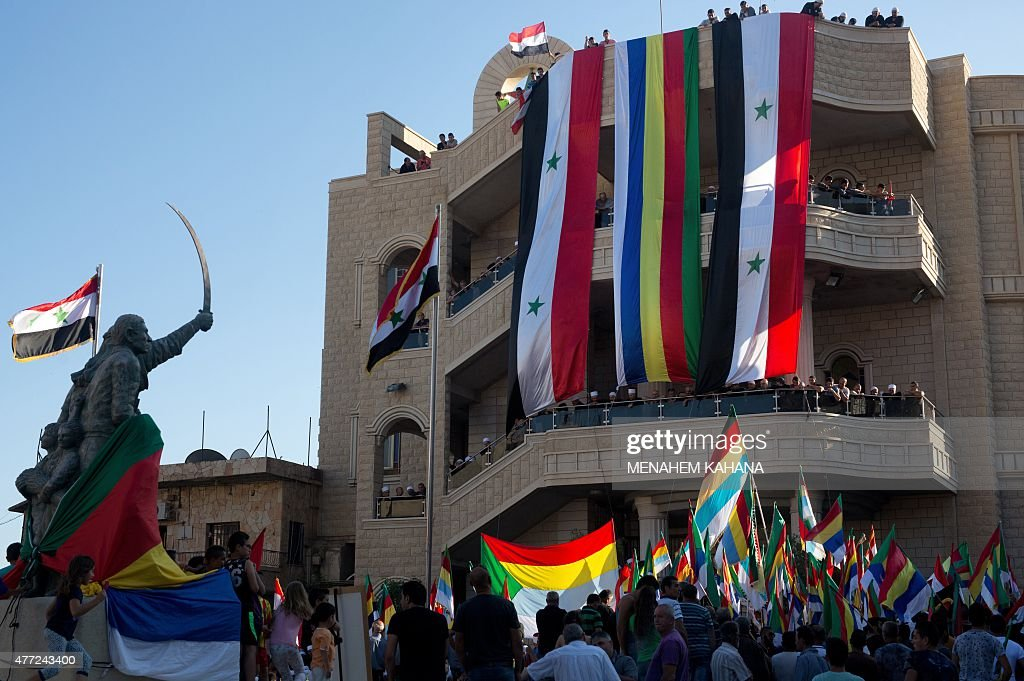 ISRAEL-DRUZE-SYRIA-CONFLICT : News Photo