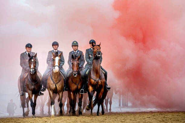 "NLD: Horse Tranning For ""Prinsjesdag"" In Scheveningen"
