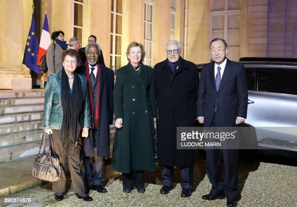 Members of the Elder group former Norwegian prime minister and former directorgeneral of the WHO Gro Harlem Brundtland former United Nations...