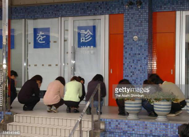 Members of the elementary school that the 12-year-old girl went pray at the building where the girl was murdered by the 23-year-old part time teacher...