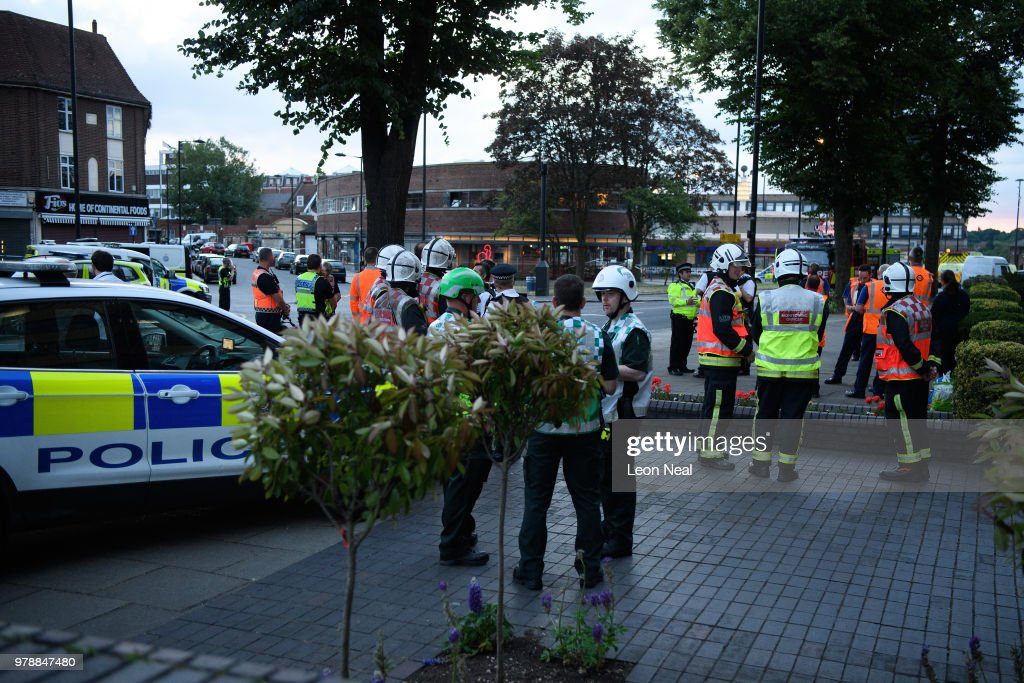 Explosion Reported At Southgate Tube Station In North London